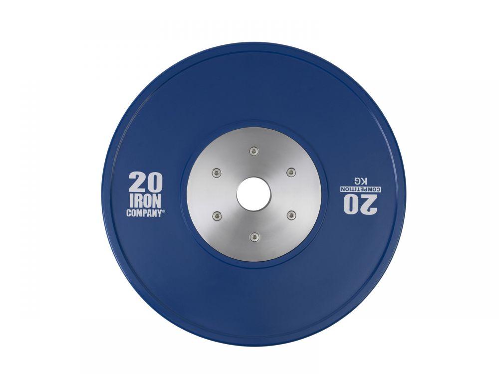 IRON COMPANY Competition Rubber Bumper Plates