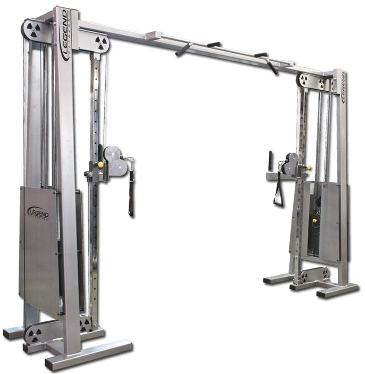 Legend Fitness 954 Cable Crossover Exercise Machines