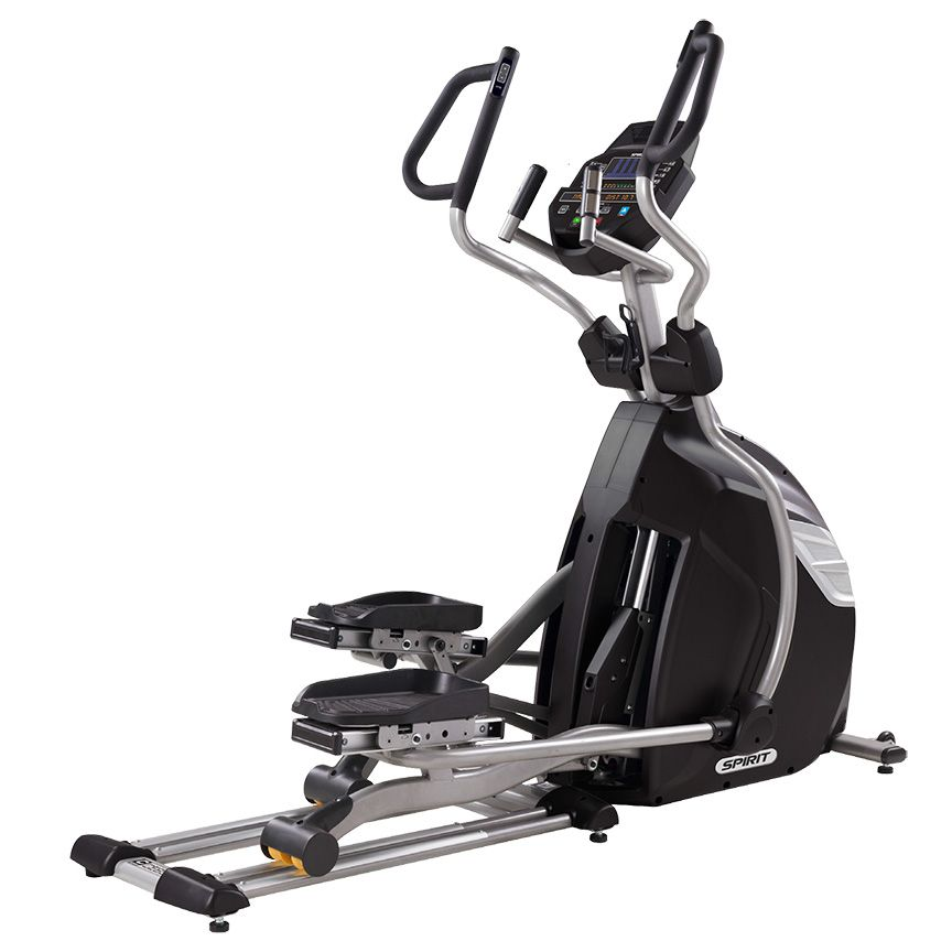 Spirit Fitness elliptical trainer for fasted cardio training