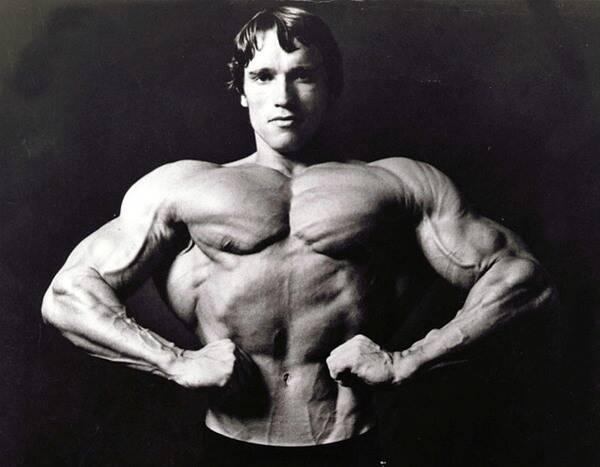 Bodybuilders Arnold Schwarzenegger From Pumping Iron