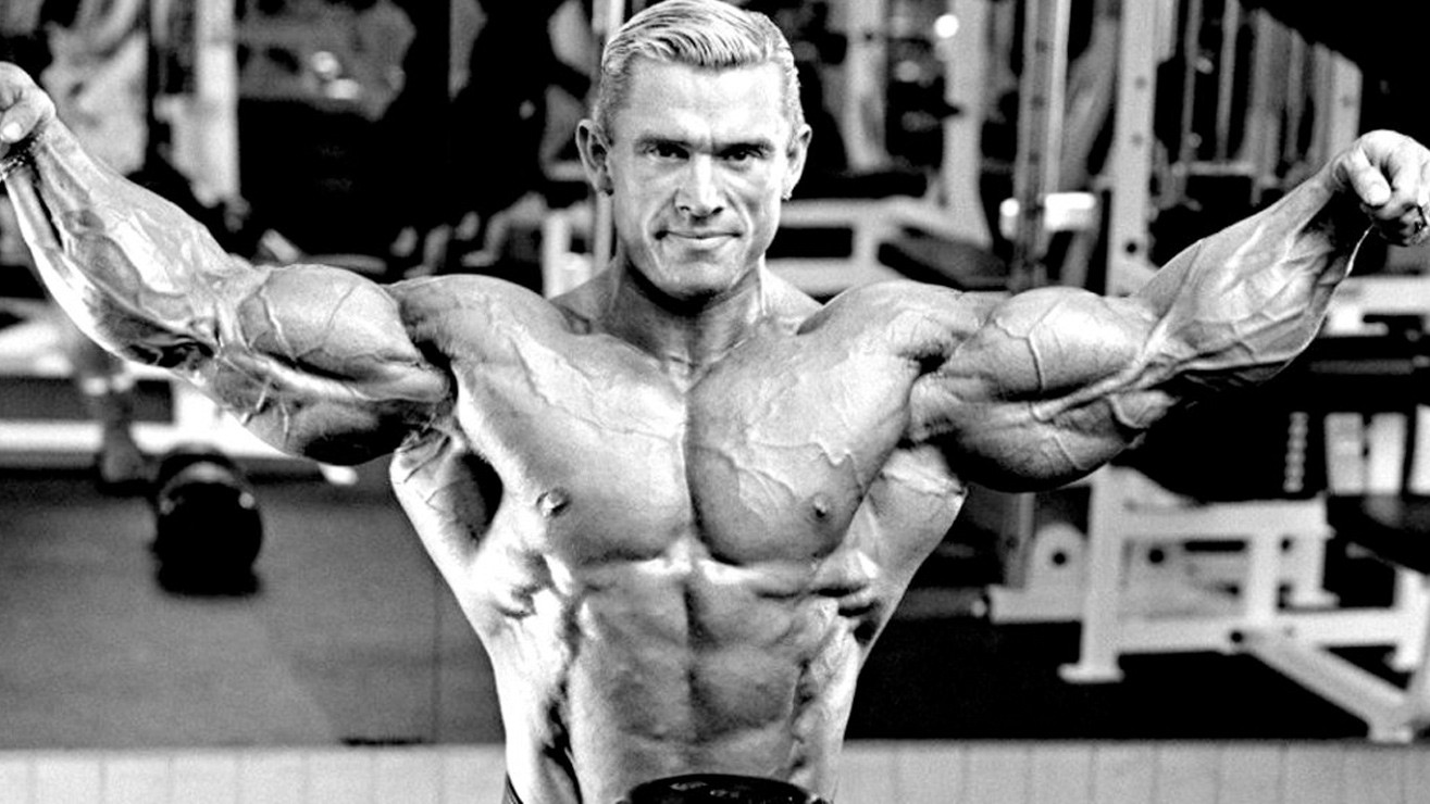 Bodybuilder Lee Priest Displays Massive Arms and Physique - Progressive Weight Training