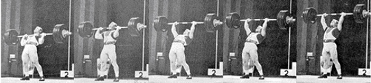 Tommy Suggs Olympic Barbell Press