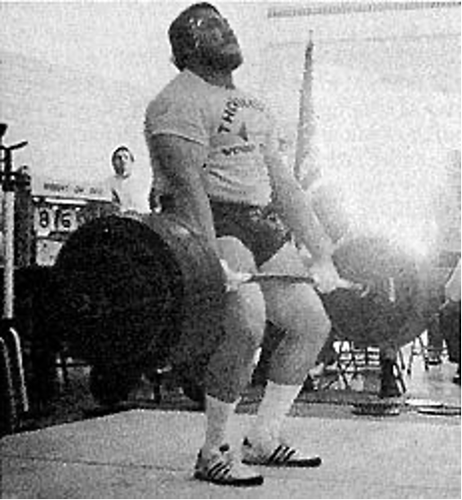 Powerlifter Jon Cole barbell deadlift - RAW with Marty Gallagher Article