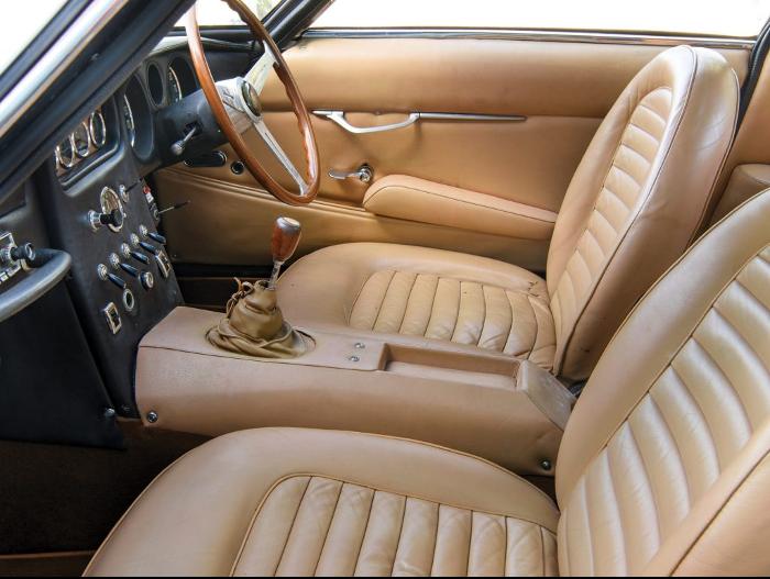 1966 Lamborghini 400 GT Leather Interior