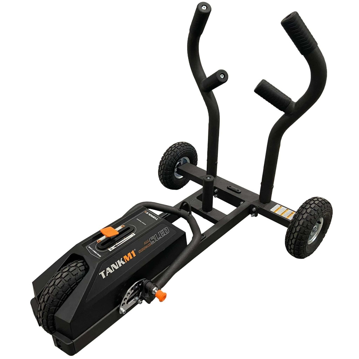 Torque TANK M1 for cardio training with a push sled.