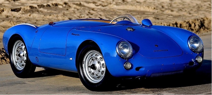 The 1955 550 Porsche Jerry Seinfeld sold for 5.3 million