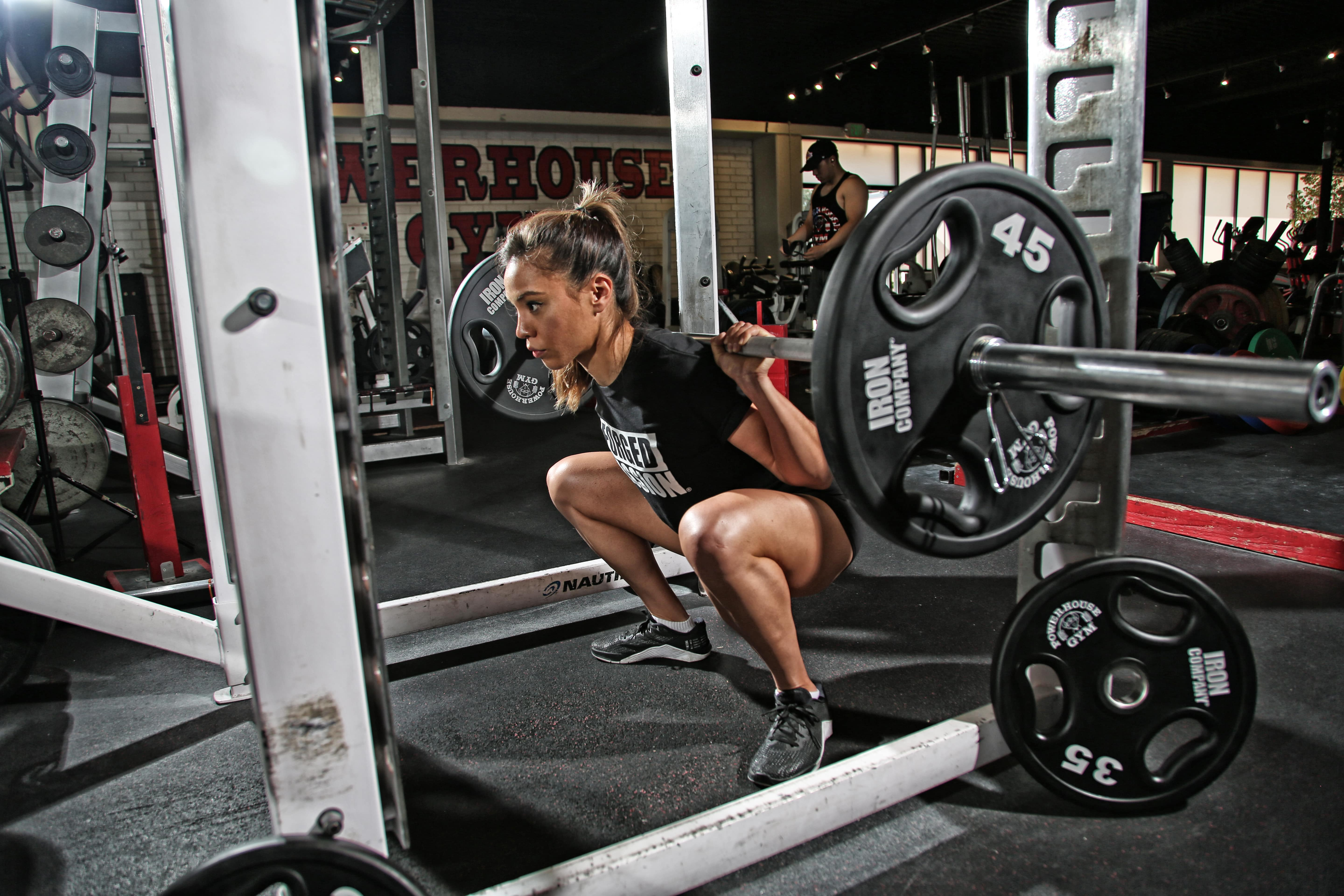 Full body barbell workouts article by Chuck Miller