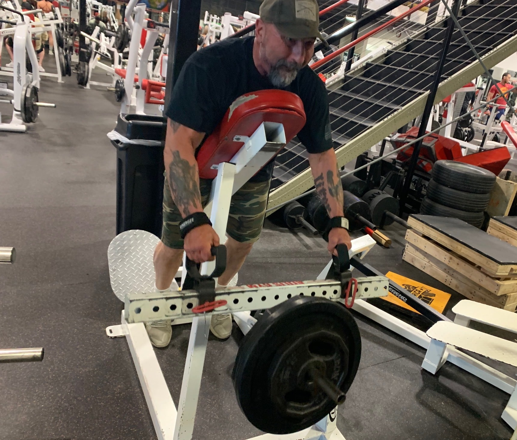 Keep Going And Power Through The Workout article by Jim Steel
