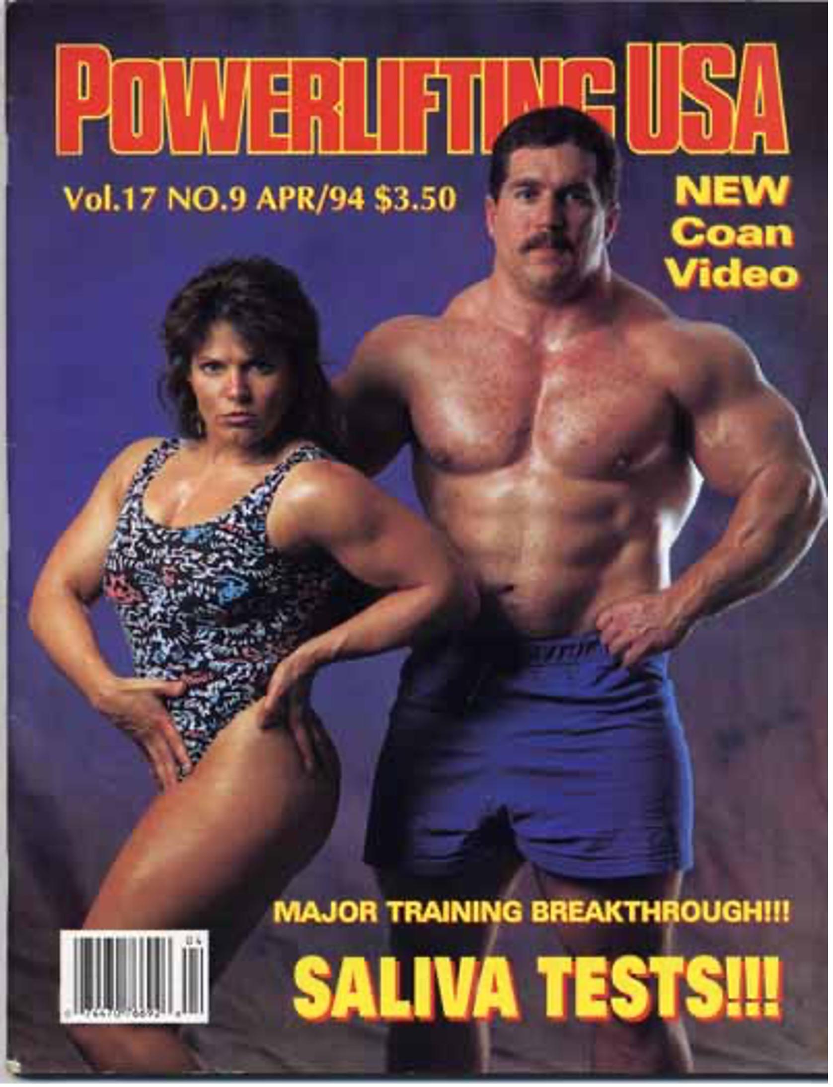 Kirk Karwoski cover of Powerlifting USA magazine