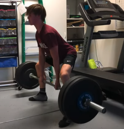 Nothing new under the sun teenage weightlifting article by Marty Gallagher