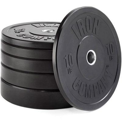 IRON COMPANY Rubber Bumper plates