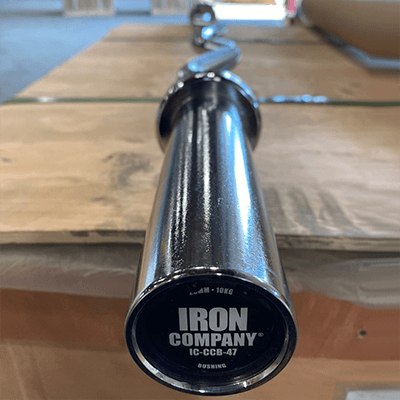 IRON COMPANY CHROME CURL BAR 47