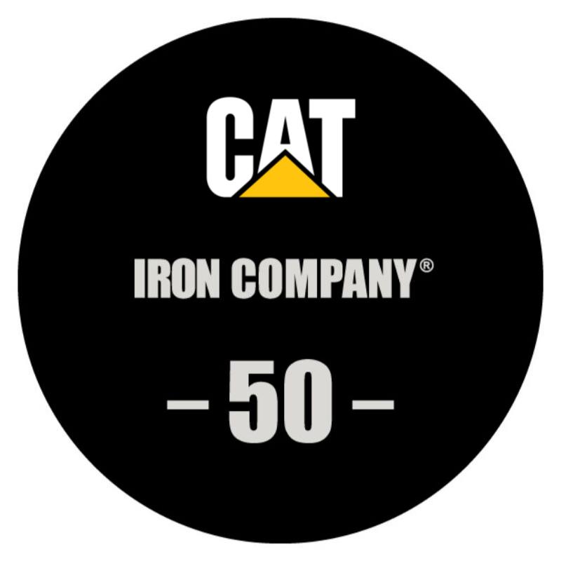 IRON COMPANY Laser Engraved Urethane Dumbbell Custom Logo