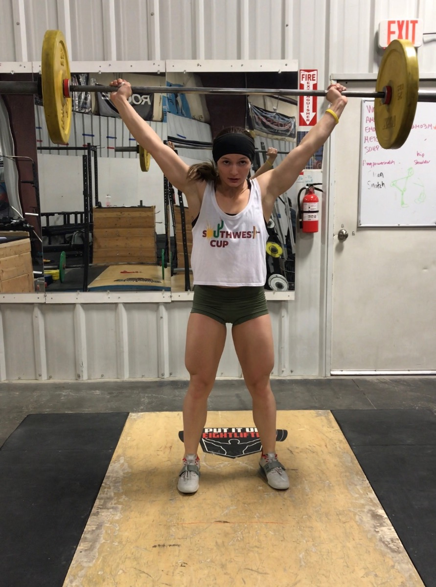 IRON COMPANY Athlete Kyra Milligan CrossFit girls out of Utah