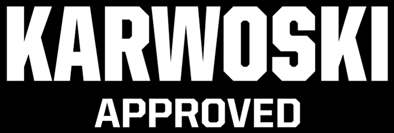 Kirk Karwoski approved ipf powerlifting bar for barbell squats, deadlifts and bench press