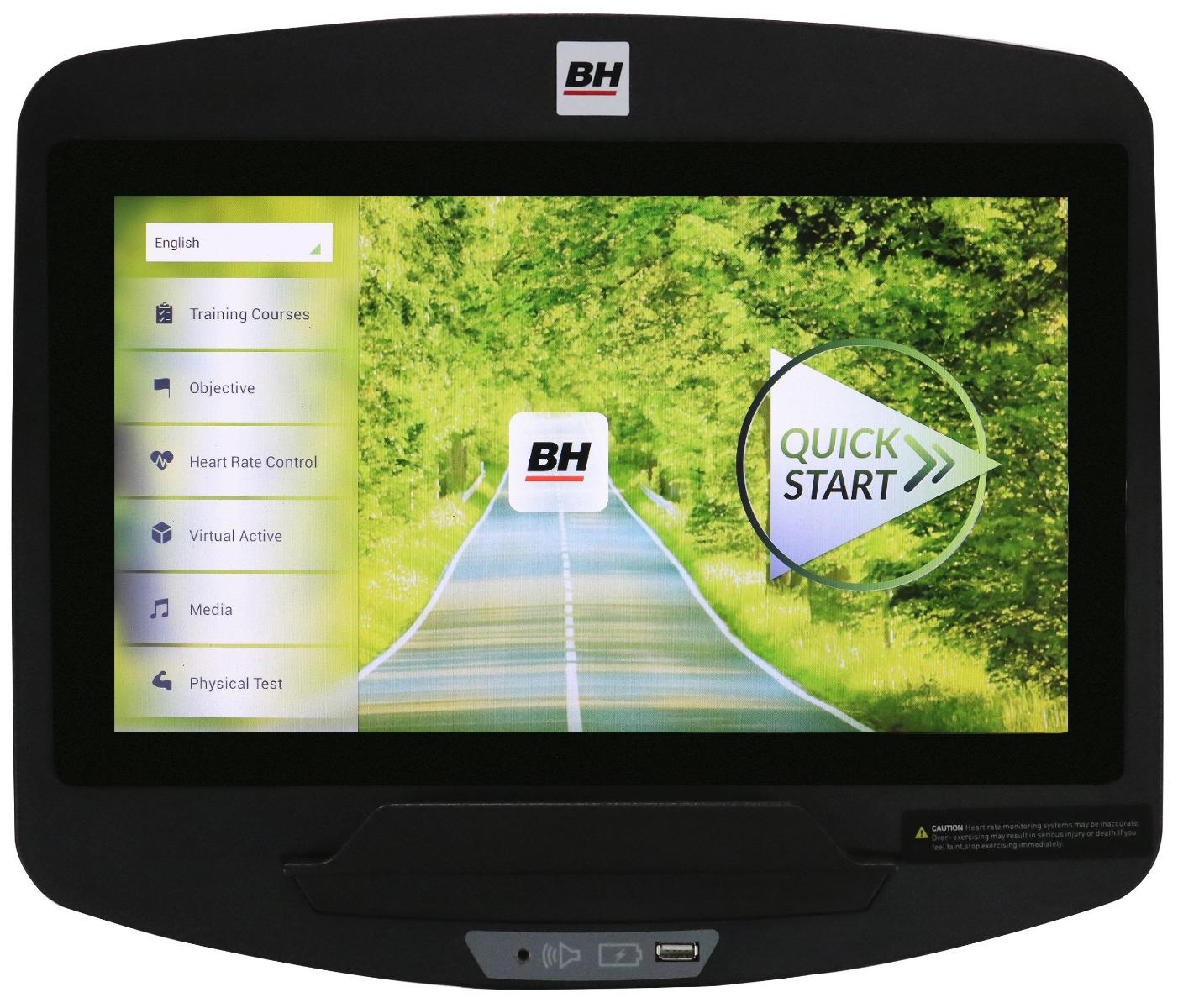 BH Fitness LK700RUE16SF SmartFocus Console