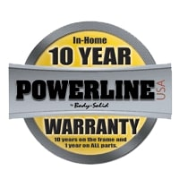 Body-Solid Powerline In-Home Warranty