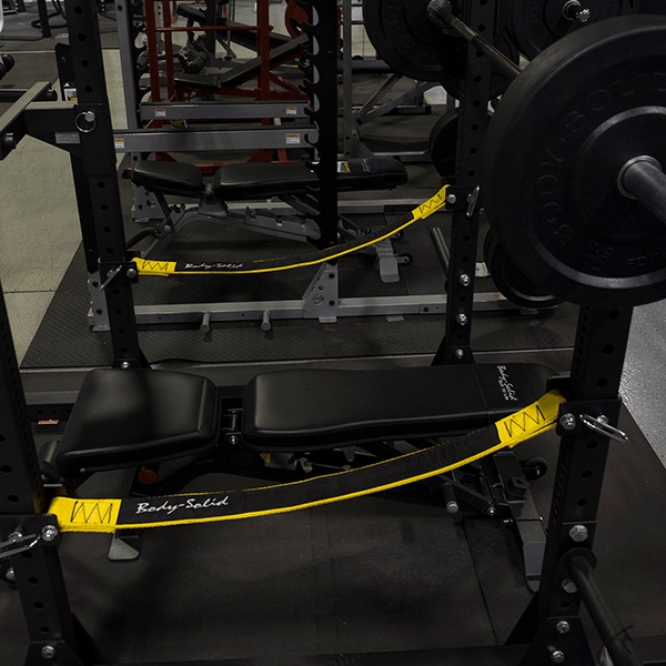 Body-Solid SPRSS Strap Safeties Option for SPR1000 Power Rack
