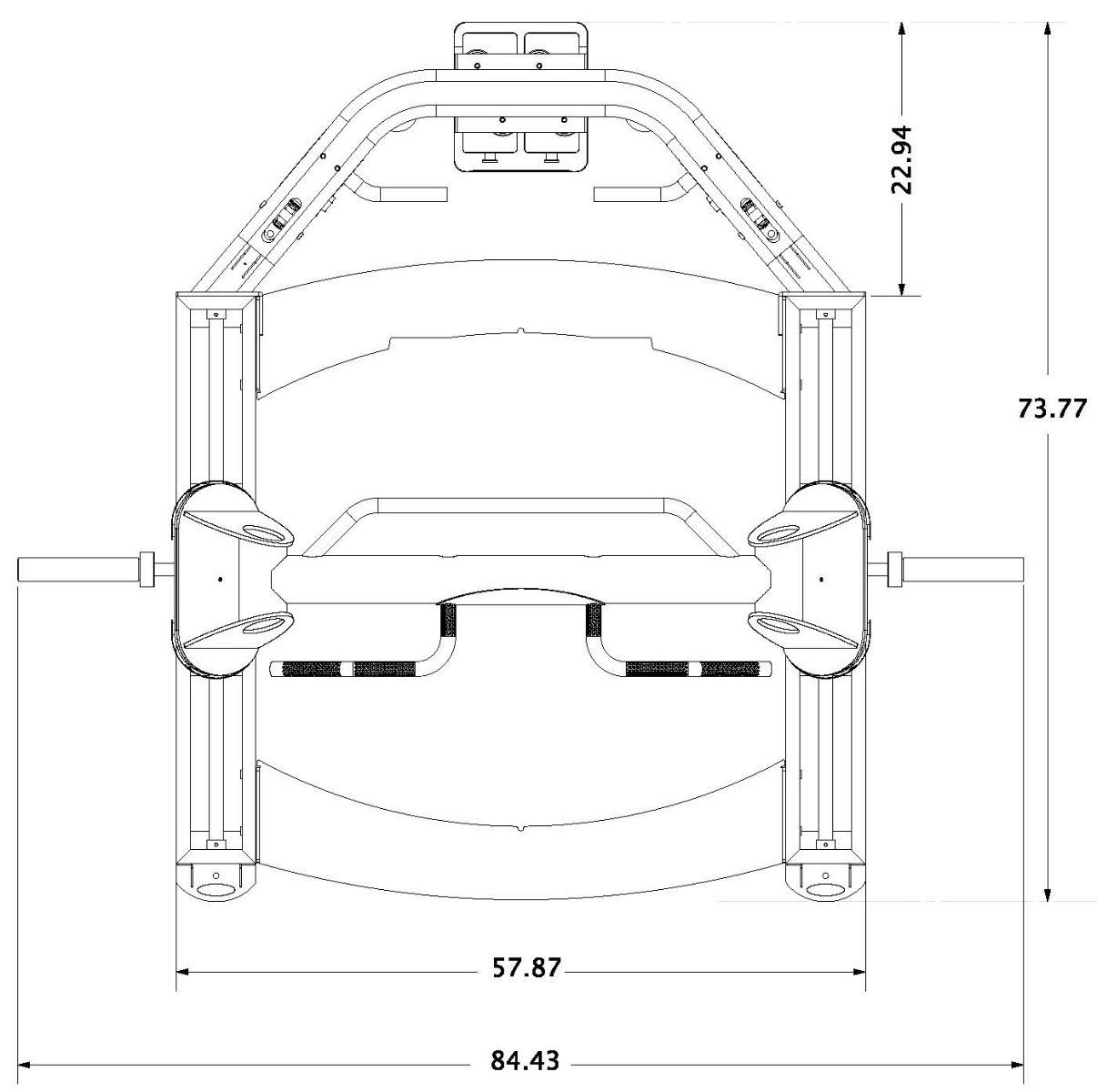 Jones Platinum Machine Floor Plan Dimensions