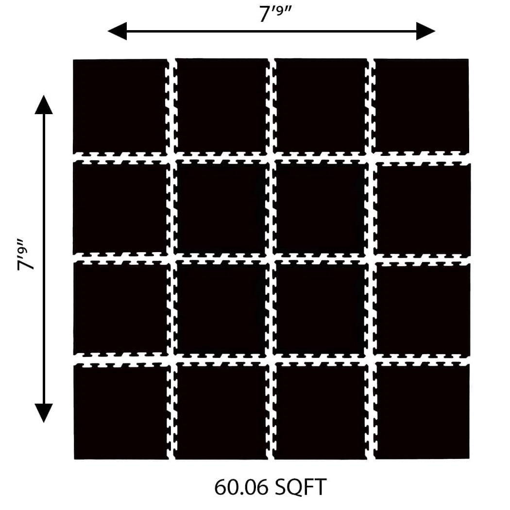 Rubberlogix GYMlogix Interlocking Tiles