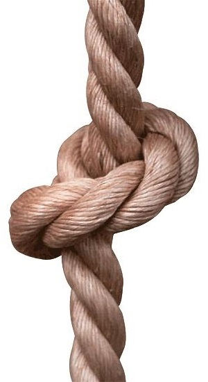 Climbing Ropes with knots