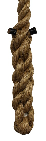 Climbing Ropes with braided end