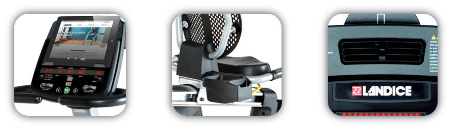 Landice R9 Accessory Features
