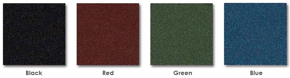 Ultimate RB Rubber Ballistic Tile Colors