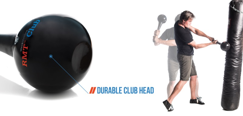RMT Club with Flexible Durable Club Head for Impact Absorption