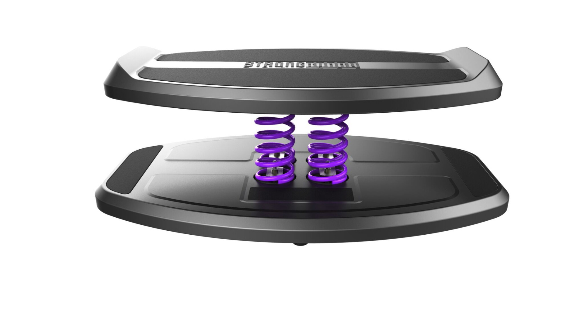 StrongBoard Balance Board with Purple Springs