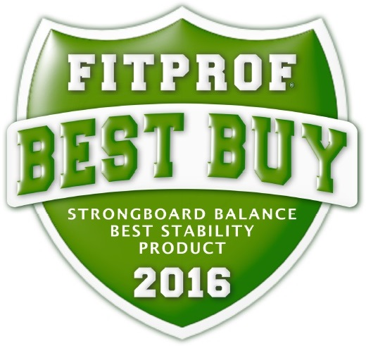 StrongBoard Balance Board FitProf Best Buy Award