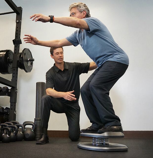 StrongBoard Balance Board for Senior Fitness