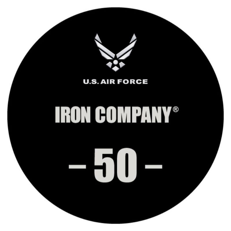 IRON COMPANY Laser Engraved Urethane Dumbbell Custom Logo 4