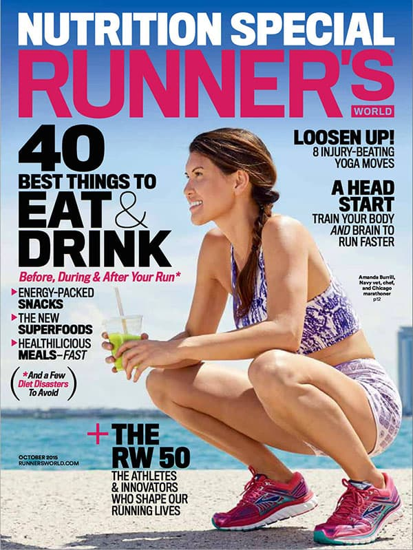 Amanda Burrill Runners World Magazine
