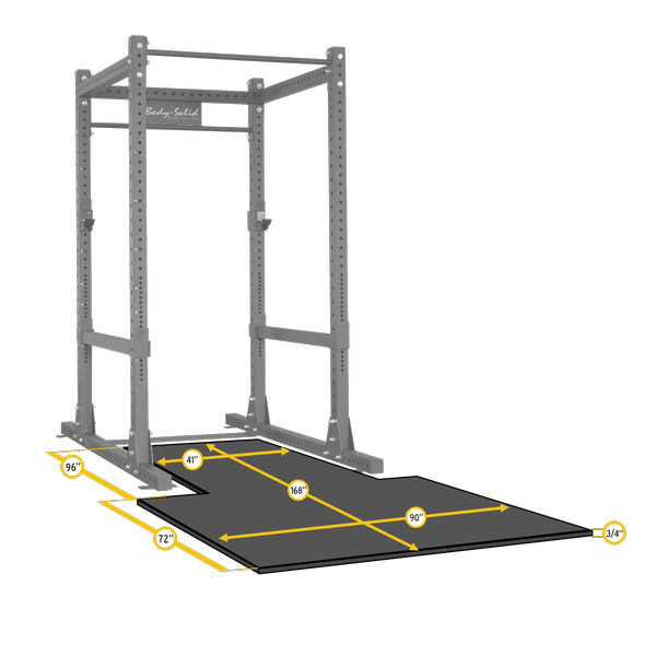 Body-Solid SPRPLATFORM Floor Mat Option for SPR1000 Power Rack