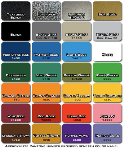 Legend Fitness Frame Colors