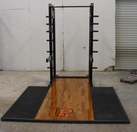 Lifting platform legend fitness