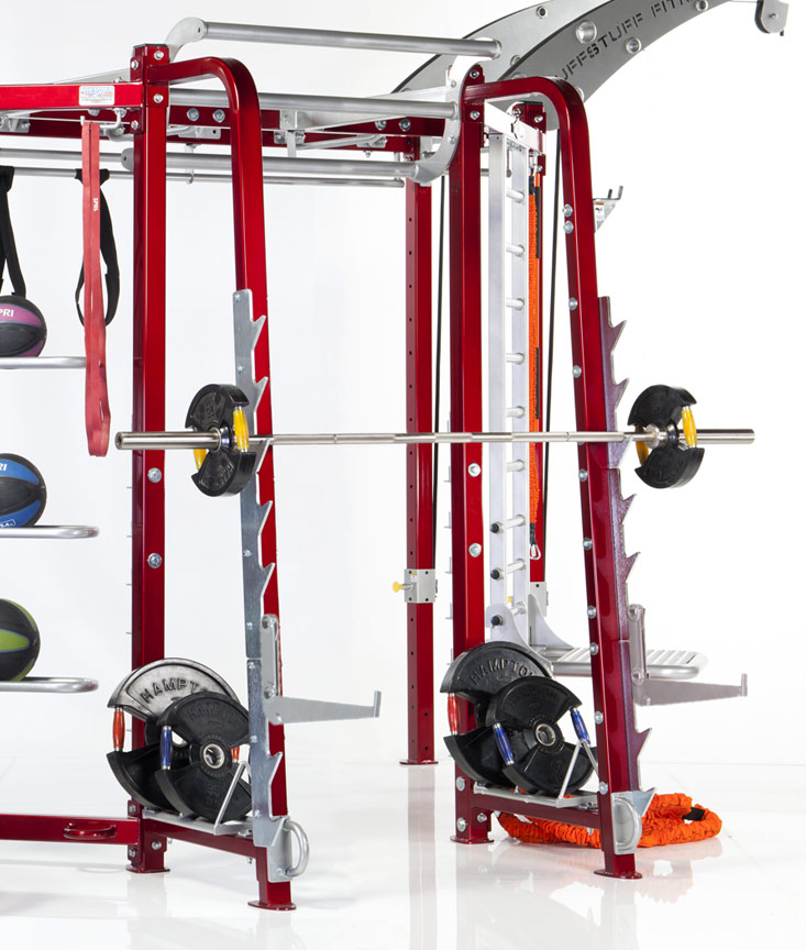 CT-8310 Press Squat Racking Station