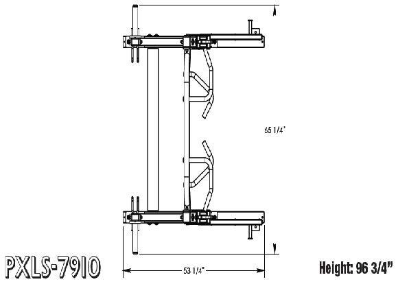 TuffStuff PXLS-7910 Half Cage Footprint