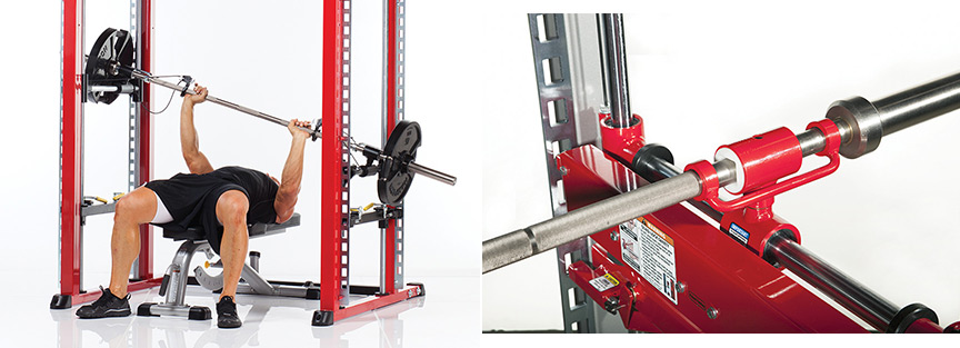 TuffStuff XPT Trainer Linear Bearing Guided Barbell System with 3-D Movement
