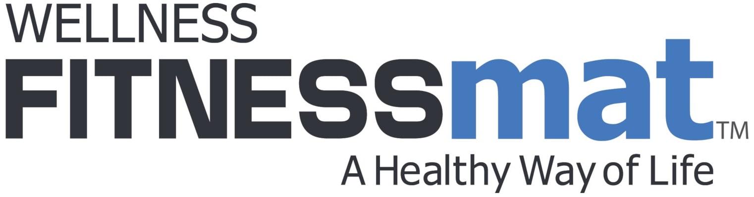 FitnessMat by WellnessMats Premium Exercise Mats
