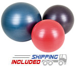 Aeromat Color Coded Fitness Balls
