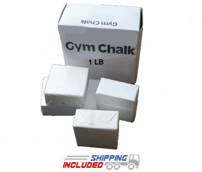 Athletic Gym Chalk - Eight 2 oz. Blocks (1 lb.)