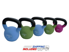 30 lb Neoprene Coated Kettlebell