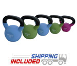 15 lb Neoprene Coated Kettlebell