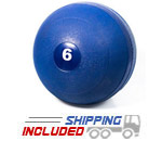 Blue No Bounce Slammer Balls For Home Gyms