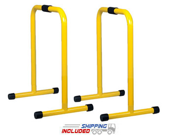 "29"" High Parallette Bars (Pair) - Multi-Exercise Racks"