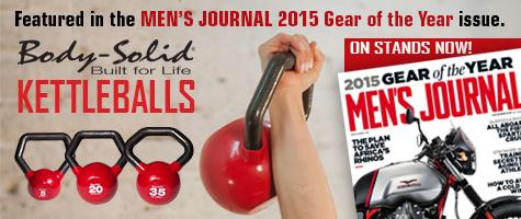 Body-Solid Kettleballs Kettlebells Men's Journal 2015 Gear of the Year