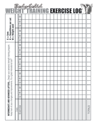 Intermediate & Advanced Routine Log