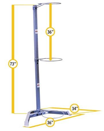 Storage Rack Dimensions